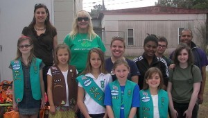 food pantry girl scout group