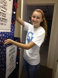 food pantry student volunteer