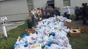 boy scouts food pantry 2