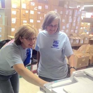 food pantry volunteering