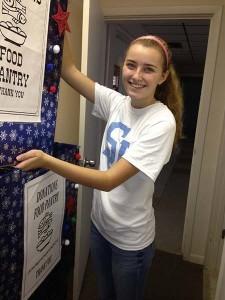 food pantry student volunteer